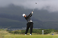 Emily Toy (ENG) on the 6th tee during Matchplay Semi-Finals of the Women's Amateur Championship at Royal County Down Golf Club in Newcastle Co. Down on Saturday 15th June 2019.<br /> Picture:  Thos Caffrey / www.golffile.ie