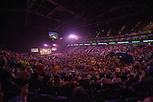 21.05.2015. London, England. Betway Premier League Darts Play-Offs.   General view of the O2 Arena. Betway Premier League final at The O2 in London on Thursday May 21.
