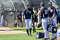 Ichiro Suzuki (Yankees),<br /> FEBRUARY 20, 2014 - MLB : (L-R) Ichiro Suzuki, Jacoby Ellsbury (22) and Carlos Beltran of the New York Yankees during the Yankees spring training baseball camp at George M. Steinbrenner Field in Tampa, Florida, United States.<br /> (Photo by Thomas Anderson/AFLO) (JAPANESE NEWSPAPER OUT)