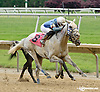 Hiram winning at Delaware Park racetrack on 6/5/14