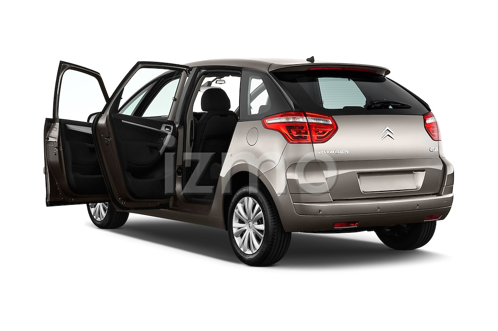 Rear three quarter door view of a 2006 - 2012 Citroen C4 Picasso Business Mini MPV.