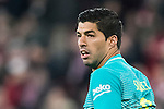 Luis Suarez of FC Barcelona looks on during their Copa del Rey Round of 16 first leg match between Athletic Club and FC Barcelona at San Mames Stadium on 05 January 2017 in Bilbao, Spain. Photo by Victor Fraile / Power Sport Images