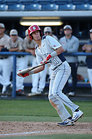 Ryan Dobson (11) of the Fresno State Bulldogs draws a walk during a game against the Pepperdine Waves at Eddy D. Field Stadium on March 7, 2017 in Los Angeles, California. Pepperdine defeated Fresno State, 8-7. (Larry Goren/Four Seam Images)