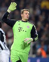 FUSSBALL  CHAMPIONS LEAGUE  VIERTELFINALE  RUECKSPIEL  2012/2013      Juventus Turin - FC Bayern Muenchen        10.04.2013 Torwart Manuel Neuer (FC Bayern Muenchen)