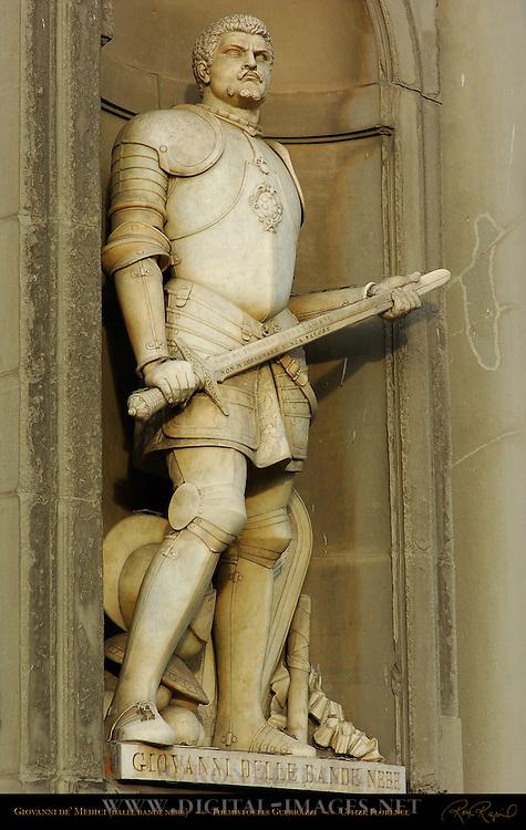 Giovanni dalle Bande Nere de' Medici (Giovanni of the Black Band) Uffizi Florence