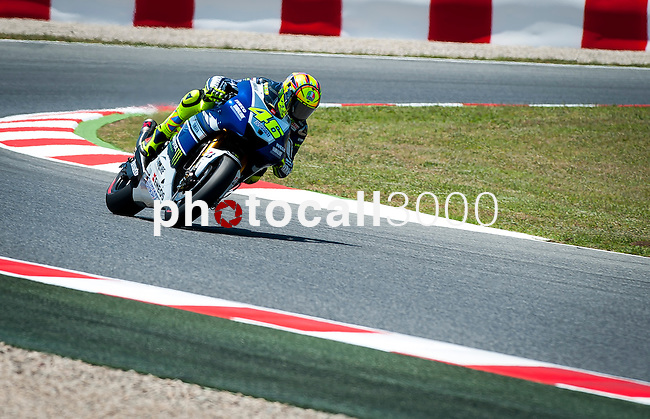 MotoGP grand prix of Catalunya. during 14, 15 and 16 of june. Valentino Rossi.