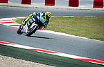 MotoGP grand prix of Catalunya. during 14, 15 and 16 of june. Valentino Rossi.