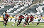 Angriff von Borussia Mˆnmchengladbach (weifl): Die Gladbacher Spieler Matthias Ginter, Breel Embolo, Rami Bensebaini und  Lars Stindl (v.l) erarten den Ball -<br /><br />27.06.2020, Fussball, 1. Bundesliga, Saison 2019/2020, 34. Spieltag, Borussia Moenchengladbach - Hertha BSC Berlin,<br /><br />Foto: Johannes Kruck/POOL / via / Meuter/Nordphoto<br />Only for Editorial use