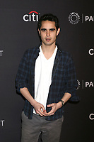 "LOS ANGELES - MAR 18:  Max Minghella at the 2018 PaleyFest Los Angeles - ""The Handmaid's Tale"" at Dolby Theater on March 18, 2018 in Los Angeles, CA"