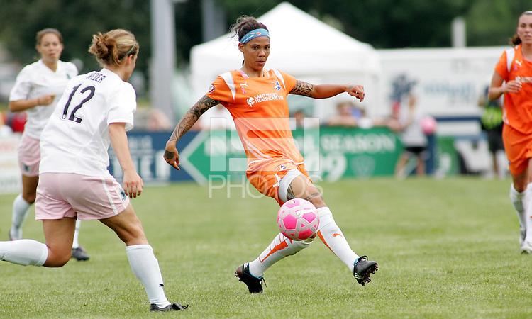 Natasha Kai..Saint Louis Athletica defeated Sky Blue FC 1-0 at Anheuser-Busch Soccer Park, Fenton, Missouri.