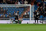 CD Leganes's Ivan Cuellar and Dimitrios Siovas during Copa Del Rey match between Real Madrid and CD Leganes at Santiago Bernabeu Stadium in Madrid, Spain. January 09, 2019. (ALTERPHOTOS/A. Perez Meca)<br />  (ALTERPHOTOS/A. Perez Meca)
