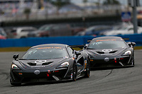 5-8 January, 2017, Daytona Beach, Florida USA<br /> 77, McLaren, McLaren GT4, GS, Nico Rondet, Jeff Westphal, Bob Doyle<br /> &copy;2017, Jake Galstad<br /> LAT Photo USA