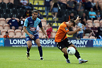 Antonis Vasiliou of Barnet goes close with an effort during Barnet vs Wycombe Wanderers, Friendly Match Football at the Hive Stadium on 13th July 2019