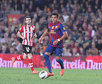 31.03.2012 Barcelona, Spain. Picture shoe Alexis Sanchez in action during La Liga match between FC Barcelona against Athletico de Bilbao at Camp Nou