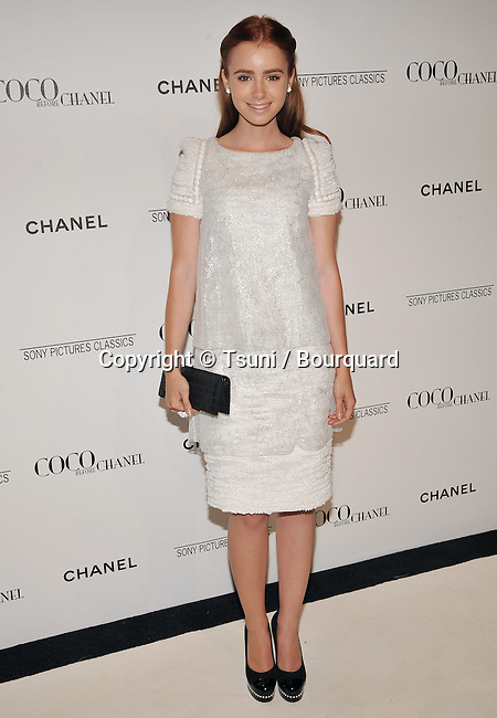Lili Collins -<br /> Coco before Chanel after Party at the Coco Chanel Boutique in Los Angeles.