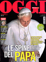Pope Benedict XVI Der Spigel September 22, 2018. Oggi Italian Magazine, <br /> Photo By Stefano Spaziani.