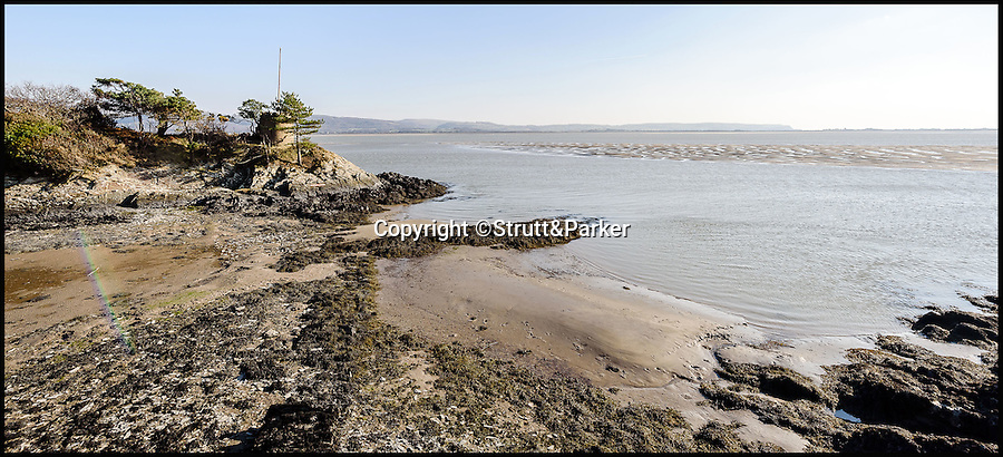 BNPS.co.uk (01202 558833)<br /> Pic: Strutt&Parker/BNPS<br /> <br /> Island has its own folly.<br /> <br /> Go West...ultimate coastal hideaway with its own private island.<br /> <br /> A beautiful family home with its own private island is the perfect purchase for anyone with a sense of adventure.<br /> <br /> Trefri Hall is a stunning Grade II listed house with the Snowdonian hills as a backdrop and incredible views over the Dovey Estuary in mid Wales.<br /> <br /> But the real selling point is the small rocky island you can reach by bridge with your own castellated folly - ideal for pirate games or a spot of hide and seek.<br /> <br /> The house is up for sale with Strutt & Parker for £1.75million.