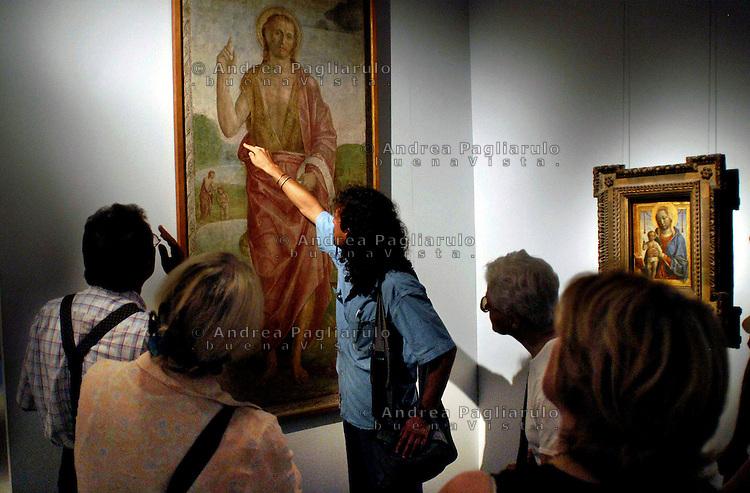 Milano, Castello Sforzesco.<br /> Visite guidate al museo e alla pinacoteca del Castello. <br /> Milan, The Sforza's castle museum.