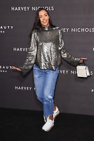 Maya Jama arriving for the Fenty Beauty by Rihanna launch party at Harvey Nichols, London, UK. <br /> 19 September  2017<br /> Picture: Steve Vas/Featureflash/SilverHub 0208 004 5359 sales@silverhubmedia.com