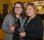 "Wednesday and Lori Entner during the Reno Magazine ""Bubbles Tasting"" event at Total Wine in Reno on Friday night, February 9, 2018."