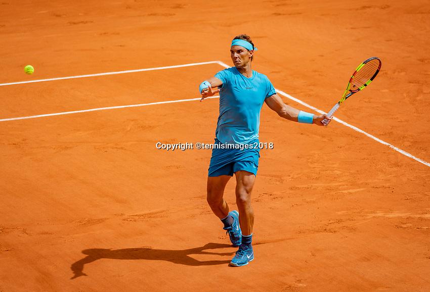Paris, France, 02 June, 2018, Tennis, French Open, Roland Garros, Rafael Nadal (ESP)<br /> Photo: Henk Koster/tennisimages.com