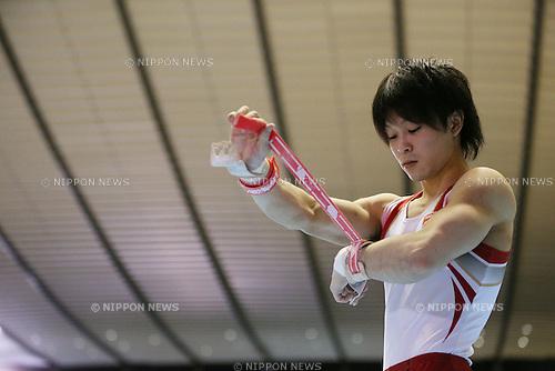Kohei Uchimura (JPN), .MAY 4, 2012 - Artistic Gymnastics : .The 51st NHK Cup .Men's Individual All-Around Competition .Horizontal Bar .at Yoyogi 1st Gymnasium, Tokyo, Japan. .(Photo by YUTAKA/AFLO SPORT) [1040]