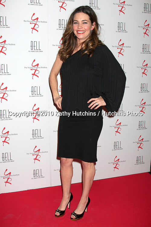 Amelia Heinle.arrivng at The Young & The Restless 37th Anniversary Dinner.Via Allorro.Beverly Hills, CA.March 9, 2010.©2010 Kathy Hutchins / Hutchins Photo....