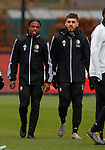 27.11.2019: Feyenoord training: Tyrell Malacia and Orkun Kocku