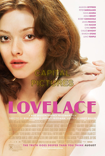 POSTER ART<br /> in Lovelace (2013) <br /> *Filmstill - Editorial Use Only*<br /> CAP/FB<br /> Image supplied by Capital Pictures