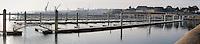 La Marina du Chateau du port de Brest, la veille de son ouverture, accueillera 75 bateaux de plaisance. Cette marina portera la capacite d'accueil du port de Brest a 2210 bateaux.