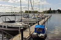 Hafen von Kirchdorf auf der Insel Poel, Mecklenburg-Vorpommern, Deutschland