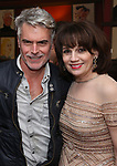 Troy Britton Johnson and Beth Leavel during the Beth Leavel Portrait unveiling at Sardi's on 3/26/2019 in New York City.