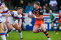 Picture by Alex Whitehead/SWpix.com - 27/04/2018 - Rugby League - Betfred Super League - Castleford Tigers v Wakefield Trinity - Mend-A-Hose Jungle, Castleford, England - Castleford's Adam Milner in action.