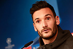 Tottenham Hotspur FC's Hugo Lloris in press conference before training session. October 16,2017.(ALTERPHOTOS/Acero)