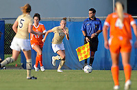 21 August 2011:  FIU's April Perry (6) pursues the ball in the first half as the University of Florida Gators defeated the FIU Golden Panthers, 2-0, at University Park Stadium in Miami, Florida.
