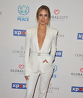 Kimberley Garner at the Football For Peace Initiative Dinner by Global Gift Foundation, Corinthia Hotel, Whitehall Place, London, England, UK, on Monday 08th April 2019.<br /> CAP/CAN<br /> ©CAN/Capital Pictures