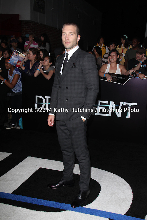 "LOS ANGELES - MAR 18:  Jai Courtney at the ""Divergent"" Los Angeles Premiere at Bruin Theater on March 18, 2014 in Westwood, CA"