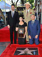 LOS ANGELES, CA. November 09, 2018: Jimmy Kimmel, Sarah Silverman, John C. Reilly & Leron Gubler at the Hollywood Walk of Fame Star Ceremony honoring comedian Sarah Silverman.<br /> Pictures: Paul Smith/Featureflash
