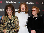 "Michele Lee, Sandra Bernhard and Carol Burnett attends the Broadway Opening Night of ""Tootsie"" at The Marquis Theatre on April 22, 2019  in New York City."