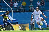 SAO PAULO, SP, 18 de fevereiro DE 2012 - CAMP. PAULISTA -Sao Caetano x CORINTHIANS, Adsriano  jogador do Corinthians. durante partida Campeonato Paulistas. no estadio Anacleto Campanella. (FOTO: ADRIANO LIMA - BRAZIL PHOTO PRESS)