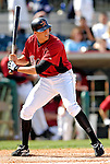 16 March 2007: Houston Astros outfielder Hunter Pence in action against the New York Yankees at Osceola County Stadium in Kissimmee, Florida...Mandatory Photo Credit: Ed Wolfstein Photo