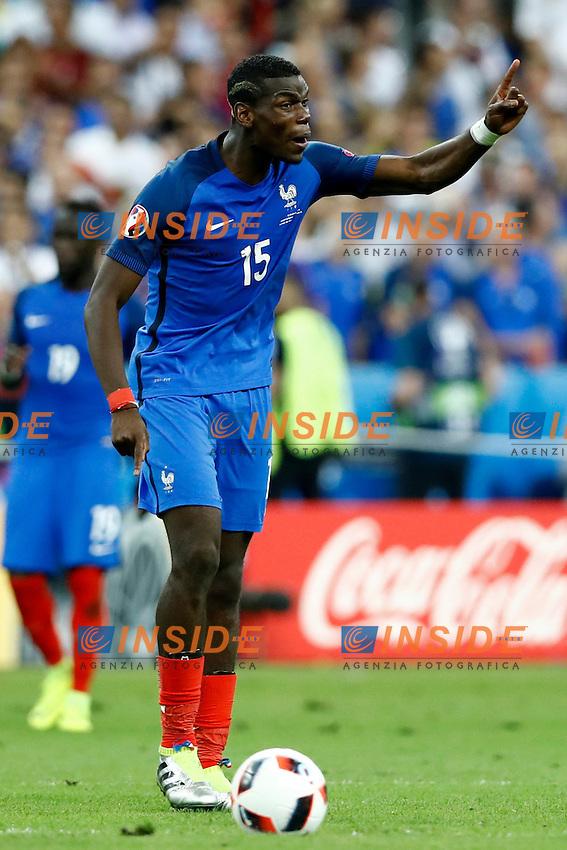 Paul Pogba (France) <br /> Paris 10-07-2016 Stade de France Football Euro2016 Portugal - France / Portogallo - Francia Final / Finale <br /> Foto Matteo Ciambelli / Insidefoto