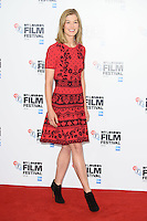 "Rosamund Pike<br /> at the London Film Festival photocall for the opening film, ""A United Kingdom"", Mayfair HotelLondon.<br /> <br /> <br /> ©Ash Knotek  D3159  05/10/2016"