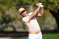 Rickie Fowler (USA) during the final round of the Waste Management Phoenix Open, TPC Scottsdale, Phoenix, Arizona, USA. 01/02/2020<br /> Picture: Golffile | Phil INGLIS<br /> <br /> <br /> All photo usage must carry mandatory copyright credit (© Golffile | Phil Inglis)