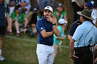Sergio Garcia (ESP) after halving the match with Shane Lowry (IRL) during round 1 of the World Golf Championships, Dell Technologies Match Play, Austin Country Club, Austin, Texas, USA. 3/22/2017.<br /> Picture: Golffile | Ken Murray<br /> <br /> <br /> All photo usage must carry mandatory copyright credit (&copy; Golffile | Ken Murray)