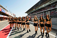 Monster girls before a race in the Gran Premi Monster Energy de Catalunya, Circuit of Montmelo. Sunday, June 11, 2017.<br /> Montmelo' Spain 11-06-2017 <br /> Moto Gp Catalogna  <br /> Foto GTres / Panoramic / Insidefoto