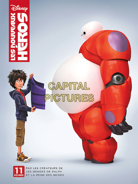 FRENCH POSTER ART<br /> in Big Hero 6 (2014) <br /> *Filmstill - Editorial Use Only*<br /> CAP/NFS<br /> Image supplied by Capital Pictures