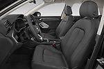 Front seat view of 2019 Audi Q3 Advanced 5 Door SUV Front Seat  car photos