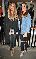Taylor Ward and Darby Ward at the K-Way flagship store opening party, K-Way, Henrietta Street, London, England, UK, on Wednesday 04 October 2017.<br /> CAP/CAN<br /> &copy;CAN/Capital Pictures