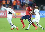 En empate a 2 goles terminó un vibrante compromiso por la fecha 18 del Apertura 2015, entre Independiente Medellín y Alianza Petrolera, disputado en el Atanasio Girardot de la capital antioqueña.